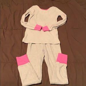 Girls thermal underwear/pajamas